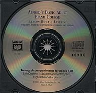 Alfred's Basic Adult Piano Course: Lesson Book: Level 2
