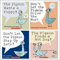 Pigeon pack 4 book set by mo willems 10170293 fandeluxe Image collections