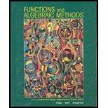 Functions and Algebraic Methods