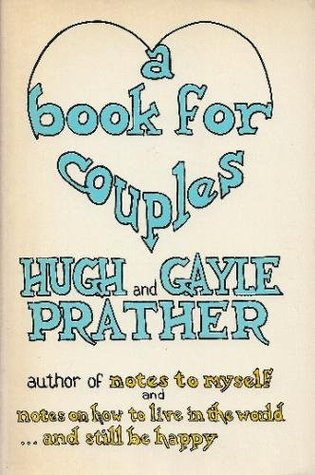A Book For Couples By Hugh Prather