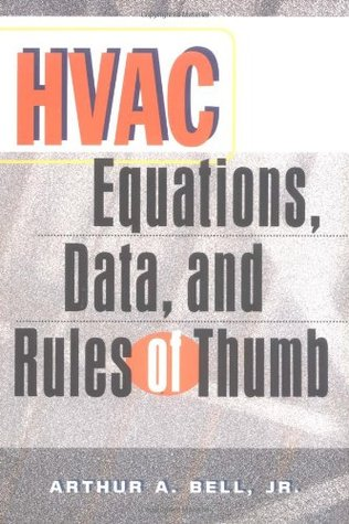 Hvac equations data and rules of thumb by arthur a bell 862921 solutioingenieria Image collections