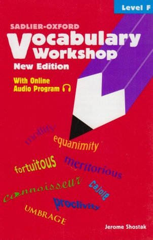 Vocabulary Workshop: Level F