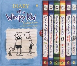 Diary of a wimpy kid 1 6 collection by jeff kinney solutioingenieria Gallery