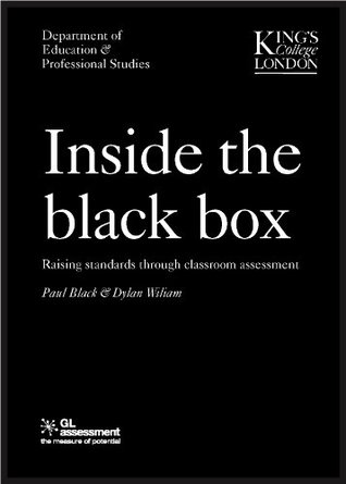 Inside the Black Box Raising Standards Through Classroom Assessment by Black, Paul ( Author ) ON Feb-21-2006, Paperback