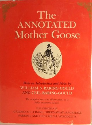 Image result for annotated mother goose book cover