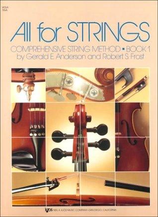 All for Strings: Comprehensive String Method: Book 1: Viola