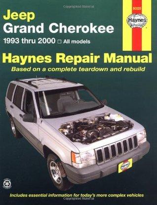 Haynes Repair Manual (Jeep Grand Cherokee 1993-2000)
