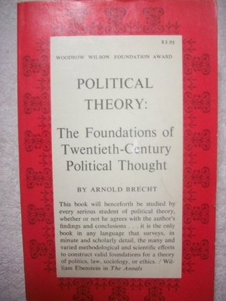 Political Theory: The Foundations of Twentieth-Century Political Thought