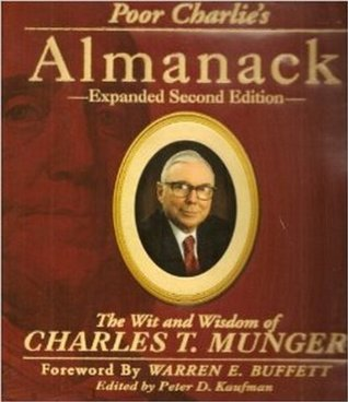 Poor charlies almanack the wit and wisdom of charles t munger by 944652 fandeluxe Gallery