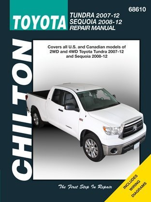 Chilton Toyota Tundra 2007-12 & Sequoia 2008-12 Repair Manual