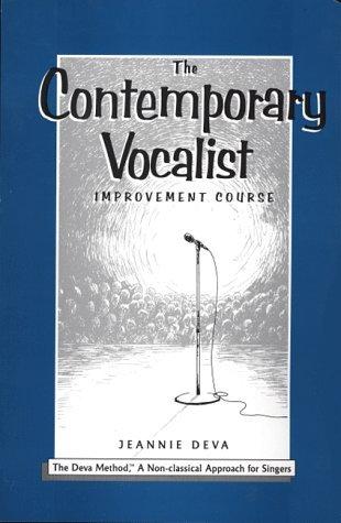 The Contemporary Vocalist Improvement Course (Book & 4 CD Edition)