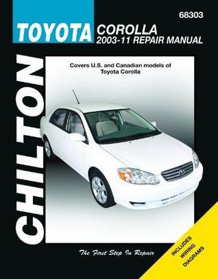 Chilton Total Car Care Toyota Corolla 2003-2011 Repair Manual