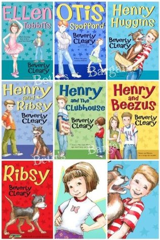 Children Book Sets (7) : Henry Huggins, Ottis Strapford, Ellen Tidbits, Henry & Ribsy, Henry and the Clubhouse, Henry & the Paper Route, Ribsy (Book Sets for Kids)