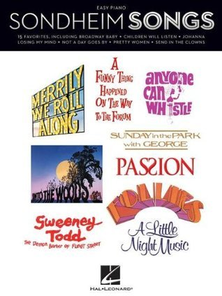 Sondheim Songs, Easy Piano