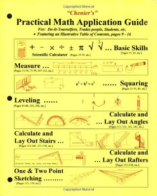 Chenier's Practical Math Application Guide by Norman J. Chenier