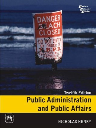 Henry and by public administration public affairs pdf nicholas