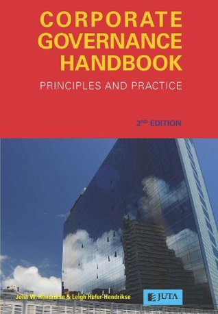 Corporate Governance Handbook: Principles and Practice