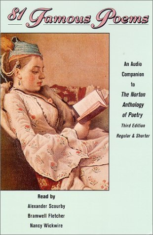 81 Famous Poems: An Audio Companion to the Norton Anthology of Poetry