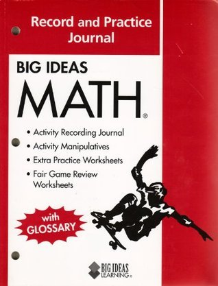 Big Ideas Math: Common Core Record and Practice Journal Red