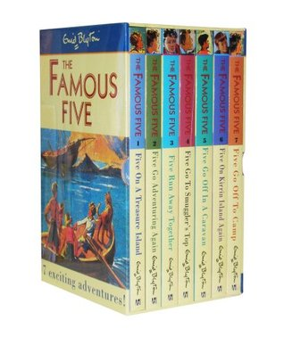 The Famous Five Slipcase 1-7