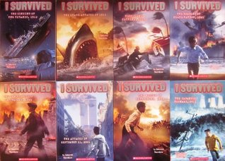 I Survived Series 8 Book Set: The Sinking of the Titanic / The Shark Attacks / Hurricane Katrina / The Bombing of Pearl Harbor / The San Francisco Earthquake / The Attacks of September 11th / The Battle of Gettysburg / The Japanese Tsunami