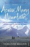 Across Many Mountains by Yangzom Brauen