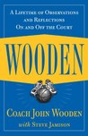 Book cover for Wooden: A Lifetime of Observations and Reflections On and Off the Court