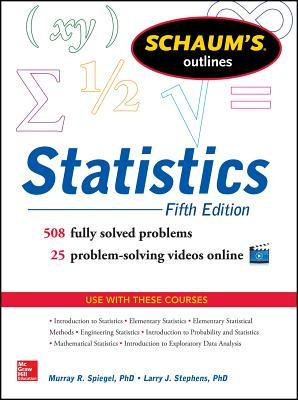 Schaum's Outline of Statistics, 5th Edition