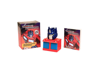 Transformers: Light-Up Optimus Prime Bust and Illustrated Book: With Sound!