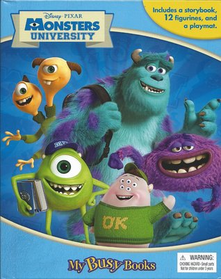 Monsters University (My Busy Books)