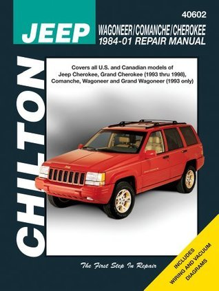 Jeep Wagoneer/Commanche/Cherokee 1984-2001