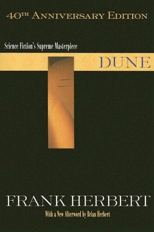 The cover of Dune by Frank Herbert