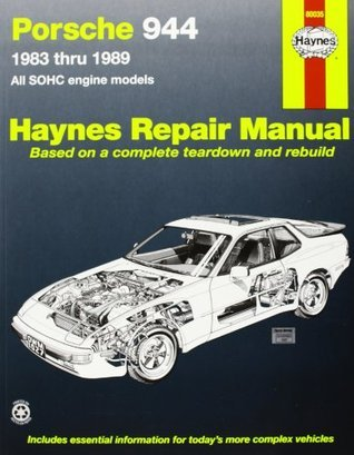 Porsche 944: Automotive Repair Manual--1983 thru 1989, All Models Including Turbo