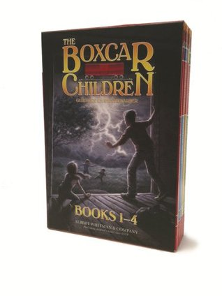 The Boxcar Children 1-4 by Gertrude Chandler Warner