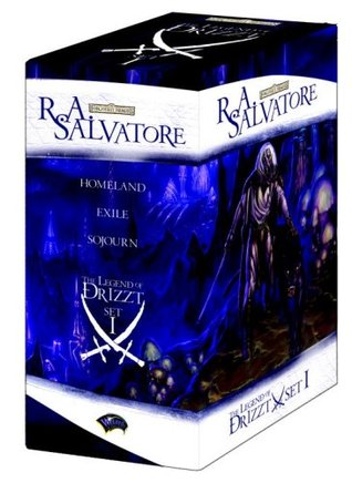 The Legend of Drizzt Boxed Set, Vol. 1 (Forgotten Realms: Dark Elf Trilogy, #1-3; Legend of Drizzt, #1-3)
