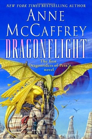 Anne McCaffrey's Dragonflight book cover