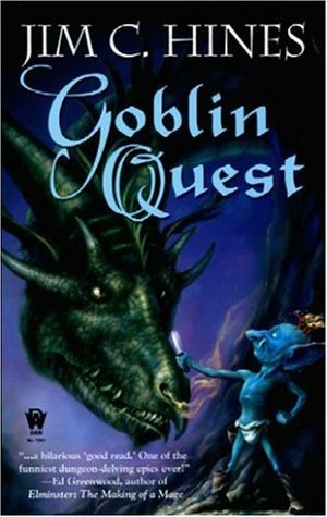 book cover: Goblin Quest by Jim C. Hines (Jig the Goblin #1)
