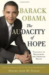 Book cover for The Audacity of Hope: Thoughts on Reclaiming the American Dream