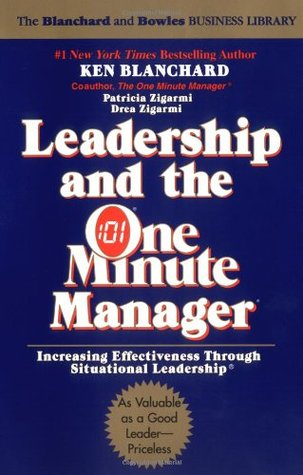 leadership and the one minute manager increasing effectiveness  43630