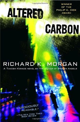 Image result for Altered Carbon, Richard K. Morgan