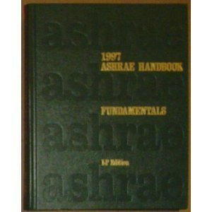 Ashrae Handbook Fundamentals, 1997