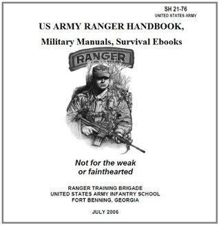 US ARMY RANGER HANDBOOK, Military Manuals, Survival Ebooks