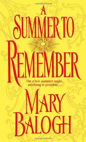 A Summer to Remember (Bedwyn Prequels, #2)