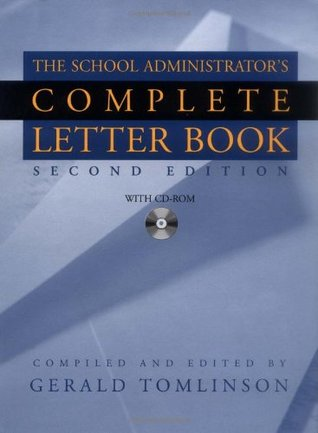 School Administrator's Complete Letter Book, Book & CD-ROM