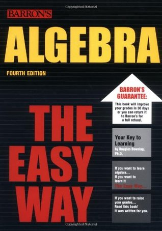 Algebra the Easy Way