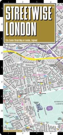 City Of London Tourist Map.Streetwise London Map Laminated City Street Map Of London England
