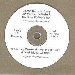 Classic Joe and Charlie Alcoholics Anonymous Big Book Seminar 9 Cds with Hand...