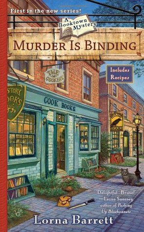 Murder is Binding (Booktown Mystery, #1)