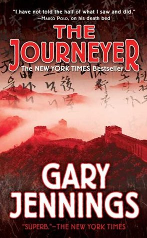 Cover art for the novel, The Journeyer