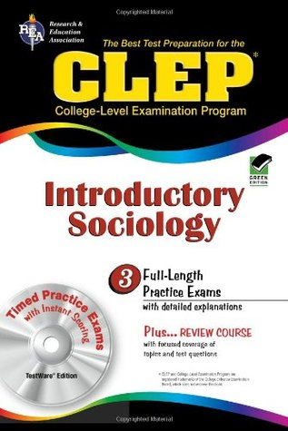 CLEP Introductory Sociology w/ TestWare CD